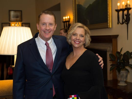 Childhelp Tennessee's Hugh Nystrom and his wife, Angelia,