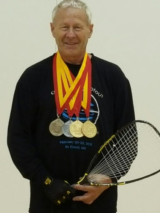 World racquetball medalist Tim Lavoi