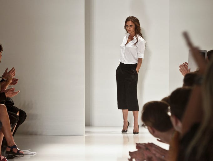 One of the most famous faces in the fashion world, Victoria Beckham, kicked off Day 4 of NYFW with her Spring 2014 collection.