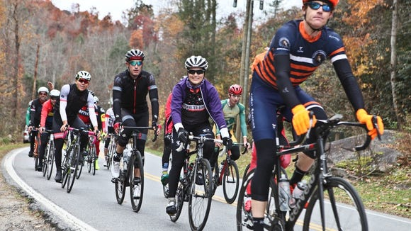 Ride with Brent Bookwalter, Asheville cyclist, Olympian and Tour de France veteran at the Bookwalter Binge Gran Fondo Oct. 28 and 29.