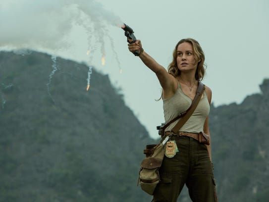 "Brie Larson in ""Kong: Skull Island."""
