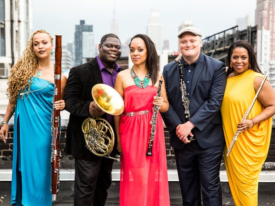 Imani Winds will perform next February as part of Lawrence