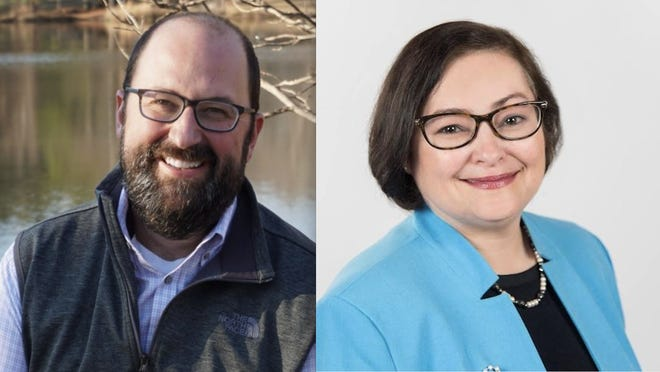 James Chafin, left, and Deborah Gonzalez, are headed to a runoff for the district attorney race in the Western Judicial Circuit.