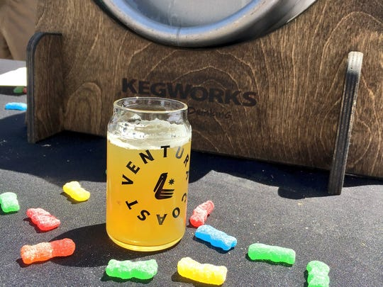 Sour Patch Kids candies were used in the making of a collaborative brew for Ventura Coast Brewing Co.'s first Cask-Off in 2017.