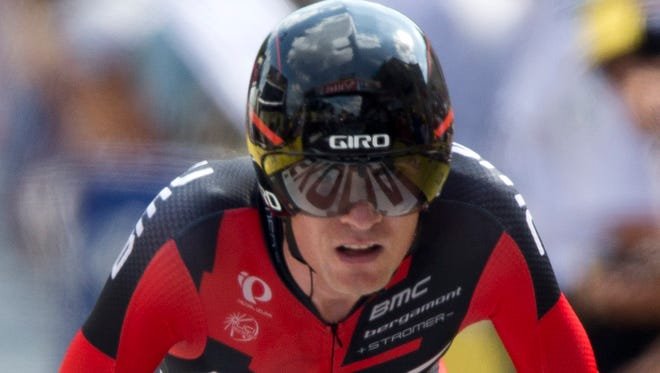 Tejay van Garderen finished fifth in the Tour de France for the second time in three years.