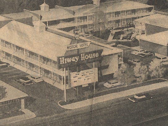 What is now the Civic Plaza Hotel started as the Hiway