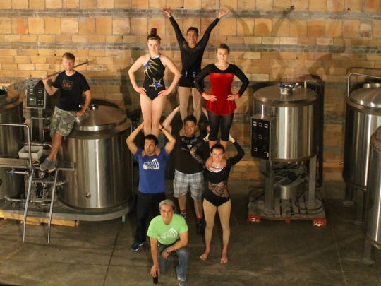 Bircus Brewing Co. brewer Alex Clemens stands on brewing