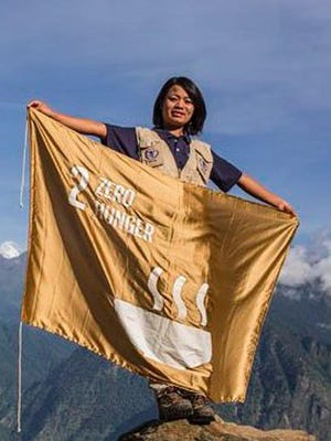 Nimdoma Sherpa, who in 2008 became the youngest woman to climb Mount Everest, will be presenting a program on Feb. 20 at The Hub at the Port Jervis Library.