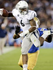 Nevada running back Don Jackson has become a leader for the Wolf Pack.