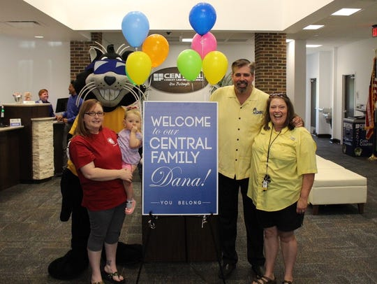 Dana Minchew, left, was the recent winner of the 2018 Last Prize Standing contest. In addition to winning a $5,000 savings account at Central Credit Union, an anonymous donor doubled her prize.