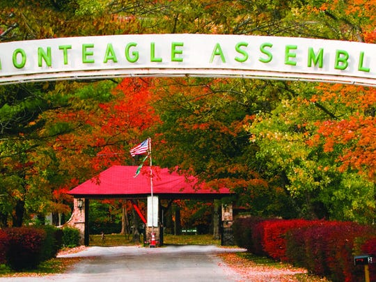 Front gate of Monteagle Assembly