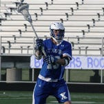 St. Xavier sophomore Griffin Buczek has committed to play college lacrosse at Cornell, but his immediate sights are set on OHSLA Division I competition as St. X is a top contender.
