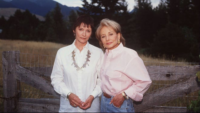 "Margot Kidder, left, spoke with Barbara Walters in 1996 following a spell of homelessness that ended when California police found her ""dirty, frightened and paranoid"" and took her to a psychiatric hospital for observation."