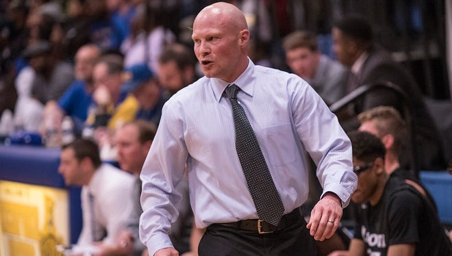Whenever Plymouth's Mike Soukup coaches a high school basketball game, he is very active and vocal -- traits he picked up while part of former Redford Union coach Brett Steele's staff during the 2000s.