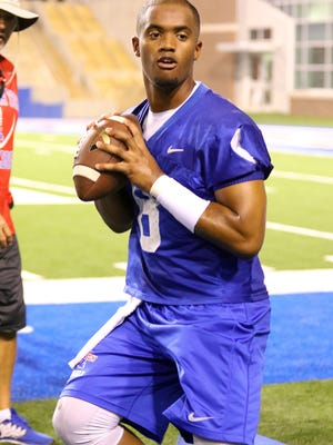 Louisiana Tech quarterback J'Mar Smith will play spring football this year as he redshirts for baseball.
