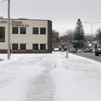 A new neighborhood gateway sign for the St. John's Cantius neighborhood is planned for a piece of land near the new Quinlivan and Hughes office building along West. St. Germain Street in St. Cloud.