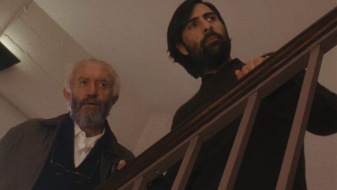 "Jonathan Pryce and Jason Schwartzman spar as egotistical writers in ""Listen Up Philip."""