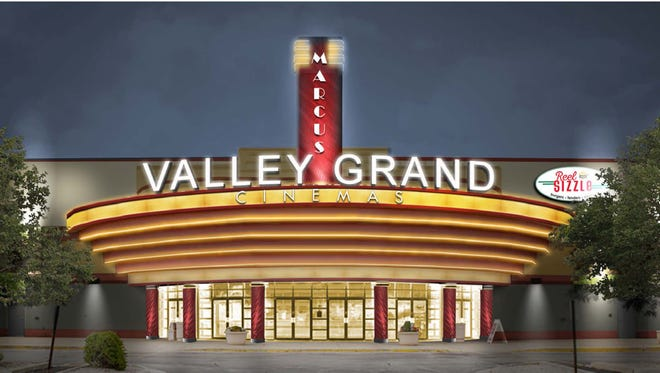 Appleton East Cinemas are being renovated and renamed Marcus Valley Grand Cinema. The complex is in Buchanan.