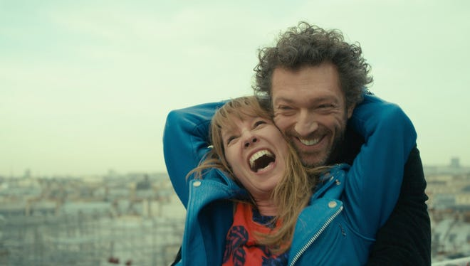 "Vincent Cassel and Emmanuelle Bercot in ""My King."""