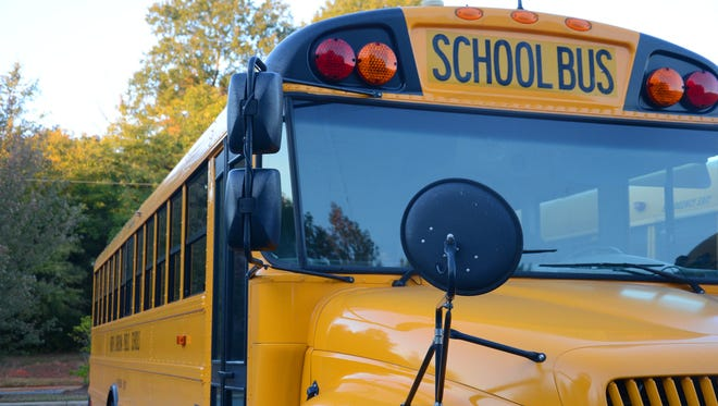 A stock image of a school bus.