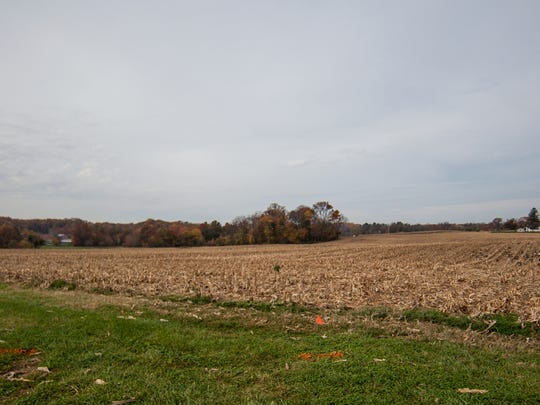 This field at the intersection of U.S. 202, Beaver Valley Road and Ramsey Road in Brandywine Hundred is the site for a planned expansion of Wilmington University.