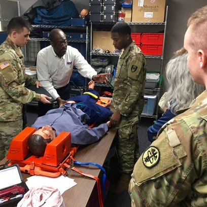 Trauma training improves medical readiness for BACH, Fort Campbell