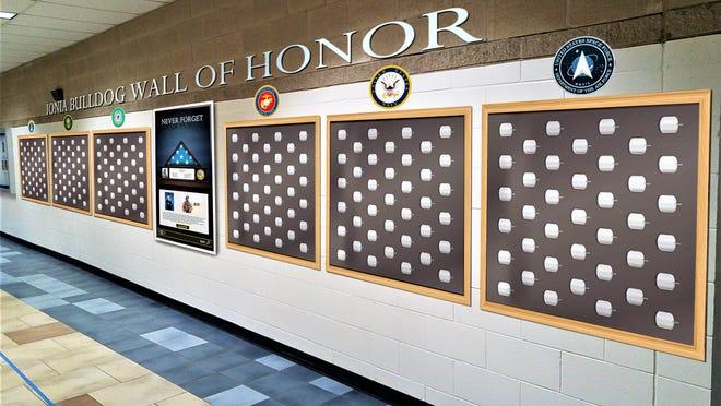 A GoFundMe fundraiser has been created for an Ionia Bulldog Wall of Honor.