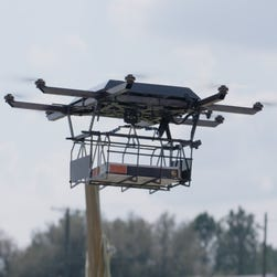 UPS tested launching a drone from a truck for deliveries