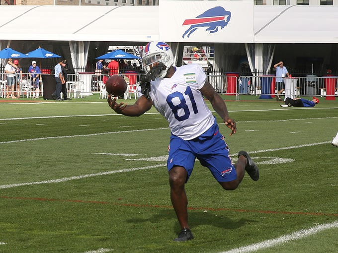 Newly acquired Buffalo Bills receiver Anquan Boldin