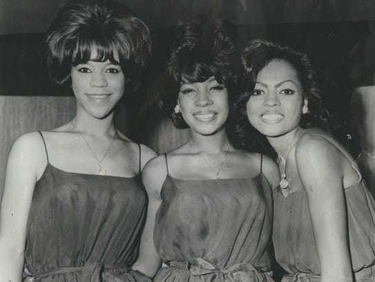 The Supremes -- from left,  Florence Ballard, Mary