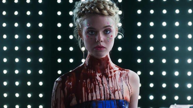 """Elle Fanning in """"The Neon Demon."""""""