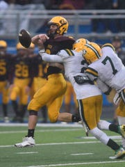 Farmington Harrison's defense came up big against Riverview in the semifinal game.