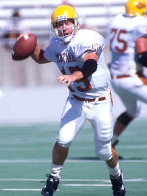One of the top college games of Dave Dickenson's career came in 1995, when the Great Falls native led the Montana Grizzlies to a 54-28 victory over Boise State.