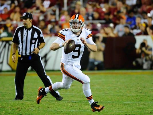 NFL: Preseason-Cleveland Browns at Washington Redskins