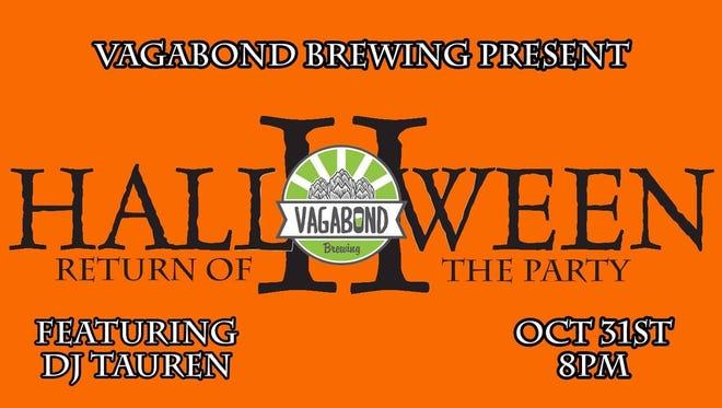 Vagabond will host a spooktacular Halloween party