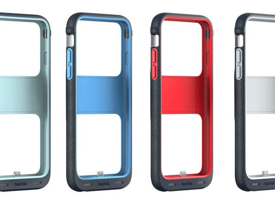 Your iPhone 6 or iPhone 6s is a pretty sweet smartphone, but the SanDisk iXpand Memory Case can expand its storage, boost its battery, and protect it from the bumps and knocks of everyday student life.