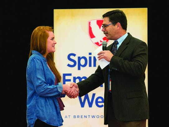 FILE — Brentwood Academy Headmaster Curt Masters presents