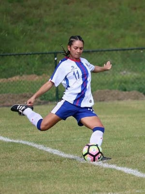 Alyssa Oviedo got the chance to represent the Dominican Republic this summer on the pitch.
