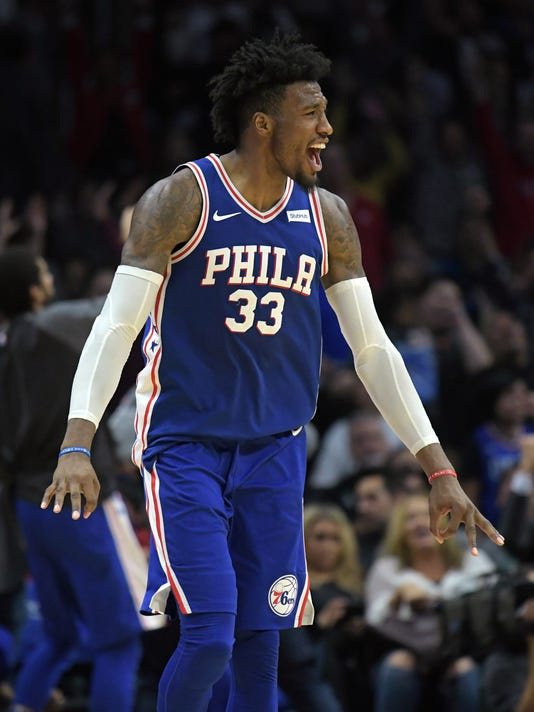 USP NBA: PHILADELPHIA 76ERS AT LOS ANGELES CLIPPER S BKN LAC PHI USA CA
