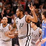 Spurs top Thunder for third-longest home streak
