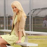 2013 file photo: Satellite High grad Britt McHenry, then a weekend sports anchor and reporter for ABC 7, in Washington D.C., covered Washington Nationals baseball team during Spring training, in Viera.