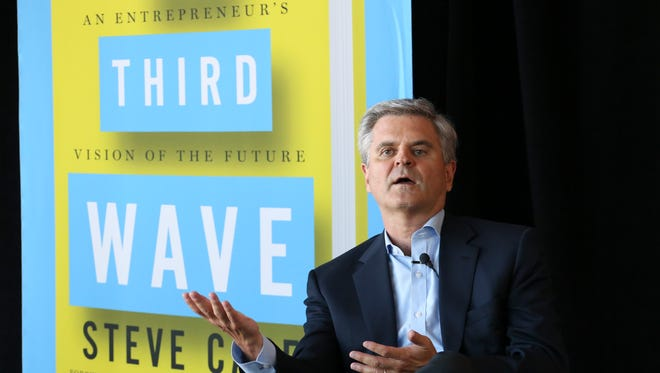 Steve Case, co-founder of AOL, discussed the future of startups and business innovation as a guest of GLI at the PNC Club at Papa John's Cardinal Stadium.June 16, 2016