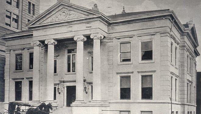 The Binghamton Public Library in 1915