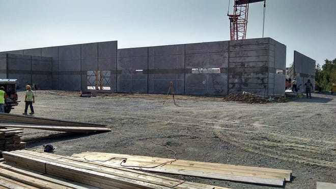 Construction continues on Premier Shooting & Training Center.