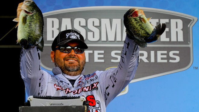 Louisiana's Greg Hackney had his catch disqualified on the opening day of the Elite Series event in New York.