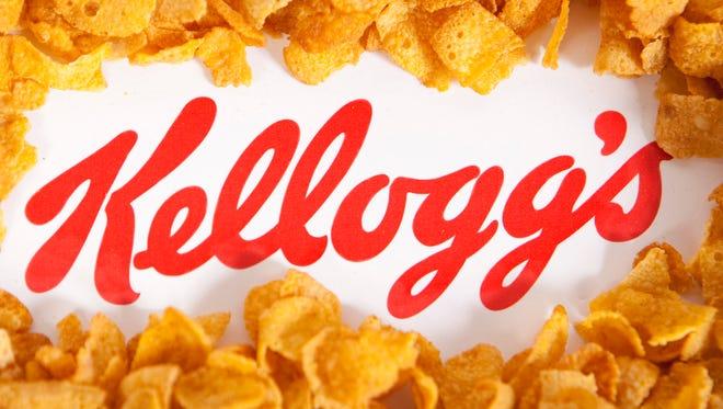 Kellogg's logo.
