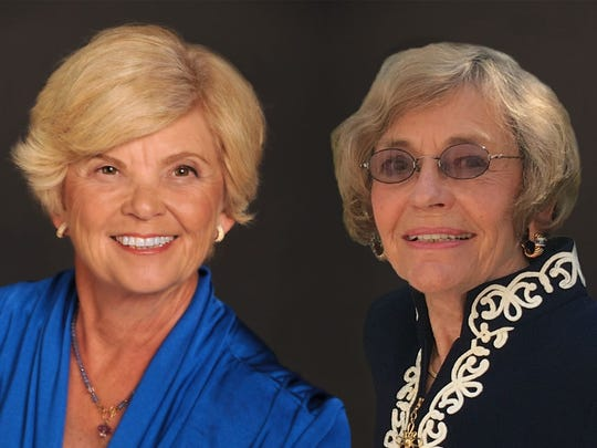 Laurel Brower (at left) and Barbara Kirsch are chairpersons
