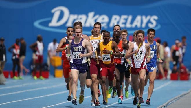 "Drake Relays director Brian Brown says national TV exposure is ""an opportunity for us to showcase (the city)."" This year's Drake Relays run from April 22-26."