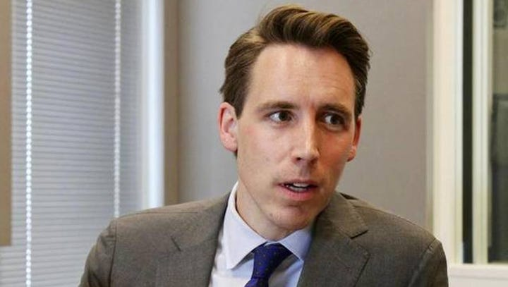 Hawley may be hedging on Senate race, but a key backer says he's running