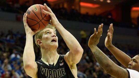 Sophomore center Isaac Haas will be the third Purdue player to try out for USA Basketball this summer.